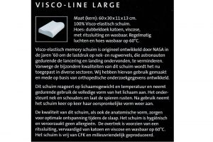 Elbatex Bedmode: Visco Line hoofdkussen