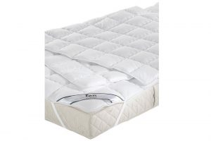 Elbatex Bedmode: Fan Wash Cotton plateau onderdeken